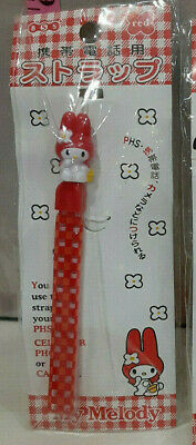 Vintage Sanrio Melody Cellphone Cell Phone Leash Wrist Strap Lanyard Rare