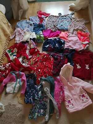 Huge Girls 12-18 Months Clothes Bundle Lots Of Next And Bluezoo