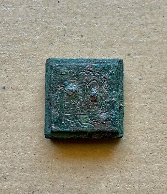 Byzantine bronze weight of 2 nomismata (solidi) (5th-6th cent). A nice piece!