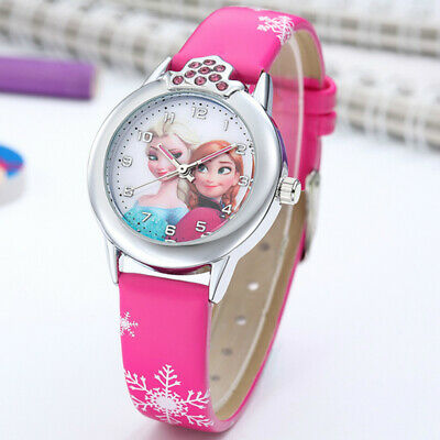 Children Lovely Watch Pink For Girls nice Fashion Gift For Kids Wristwatch