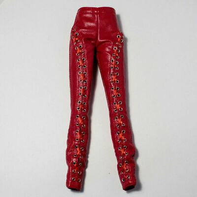 New Red Leather Pants Only Passion Week Elyse Jolie Elise Fashion Royalty