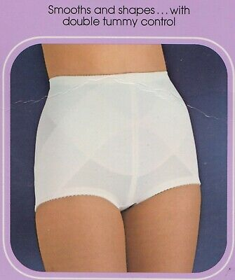 """Vintage Sears """"Natural Fit"""" Firm Control  brief style panty girdle  sz L NEW"""