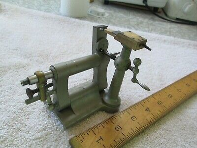 Vintage Watchmakers Swing/ Jeweling Tailstock for Lathe - American Watch Tool Co