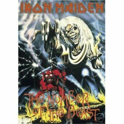 IRON MAIDEN 12x18 LEGACY OF THE BEAST 2019 TOUR POSTER BRUCE DICKINSON EUROPE 1