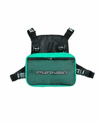 Black Pyramid Fashion Chest Rig Front Pack Pouch Holster Rig TURQ
