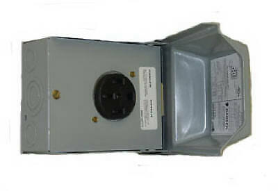 Midwest Electric 50A 120/240V Outdoor Raintite Receptacle Enclosure