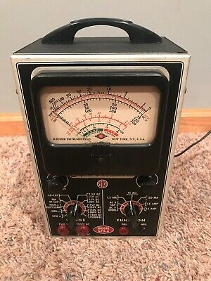 Vintage SICO Superior Instruments Co. OHMS Tester Model 670-A Untested Poets On