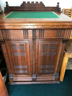 Antique Walnut Cabinet (sewing)