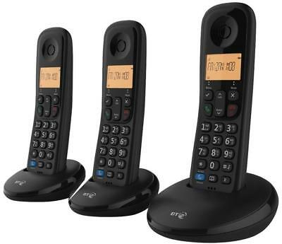 BT Everyday Trio Digital Cordless Telephone & Nuisance Call Blocker & Caller ID