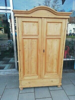 Antique Pine Knockdown Wardrobe we can deliver please contact us for a price