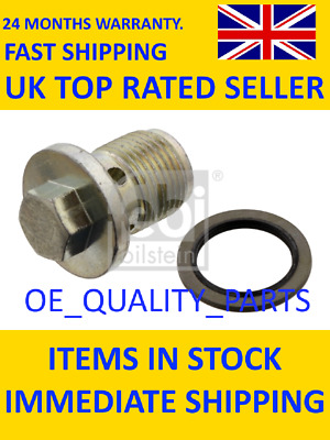 Sump Plug For Fiat Doblo 263 2010-2016 Engine Replacement Spare Replace Part