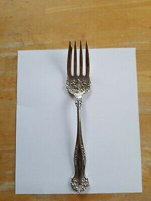 """Ambassador by 1847 Rogers Plate Silverplate Cold Meat Fork 8 1//2/"""""""