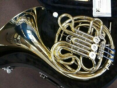 F E Olds Double French Horn With Case - Brand New    With  10 Yr Warranty