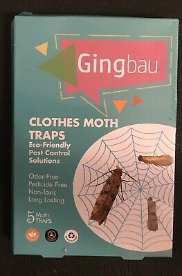 Gingbau Cloth Moth Traps
