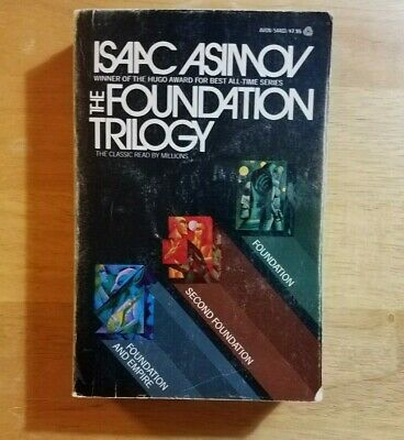 Isaac Asimov The Foundation Trilogy collectible 1st Avon November 1974 good