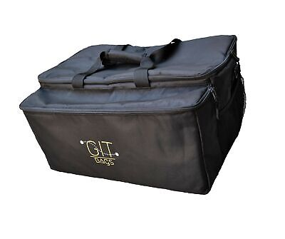 GIT Bags - Premium Large Insulated Food Delivery Bag with Insulated Drink Car...