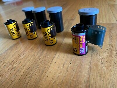4 rolls, kodak gold 200 film