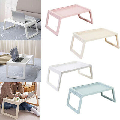 Folding Laptop Tray Portable Lap Desk Computer Table Stand for Home  Sofa Bed UK