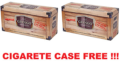 1000 (2x500) EMPTY CIGARETTE FILTER TUBES GRINGO MAKE YOUR OWN, CASE FREE!!!
