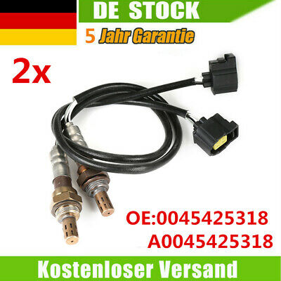 2* Lambdasonde Lamdasonde Diagnosesonde für Smart Fortwo 1.0 Turbo A0045425318