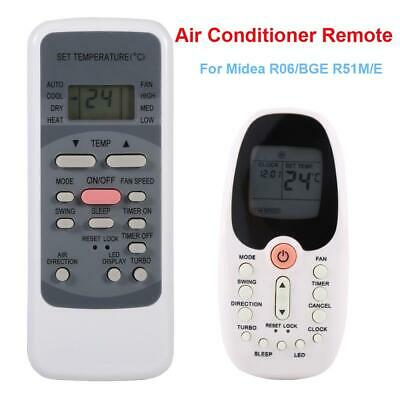 Quality Air Conditioner Remote Control Replace For Midea R06/BGE R09B/BGE R51M/E