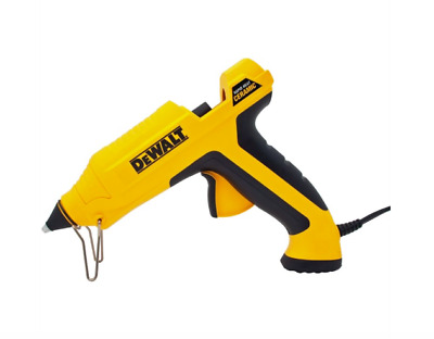 DEWALT Rapid Heat Ceramic Glue Gun 12mm all-purpose glue stick include 3 nozzles