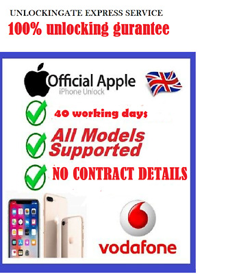 Unlocking Iphone 8 8+ Se 6S 6 5 5S 6+ 7 7+ Vodafone Uk Service Code No Number