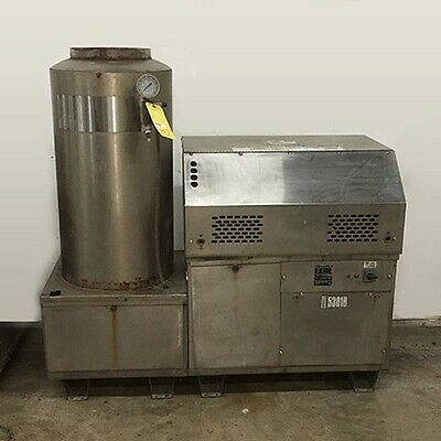 Used Alkota 5301B 3PH/Natural Gas 5GPM @ 2500PSI Hot Water Pressure Washer