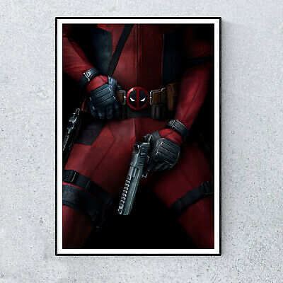 DEADPOOL 2 Movie PHOTO Print POSTER Film 2018 Wade Wilson Colossus Marvel 004
