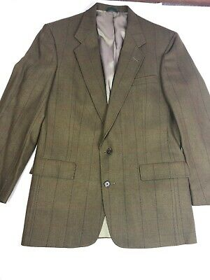 Austin Reed Blue Suit Jacket Mens 42 Long Vtg 70s 80s Sport Coat Blazer 42l 22 71 Picclick Uk