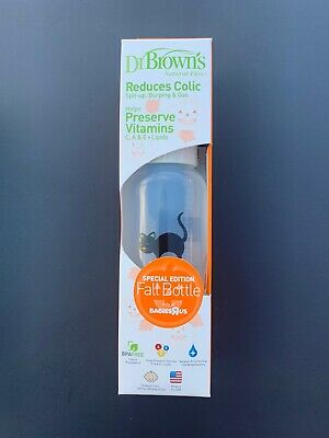Dr Browns Natural Flow Special Edition Halloween REDUCES COLICS 8oz New