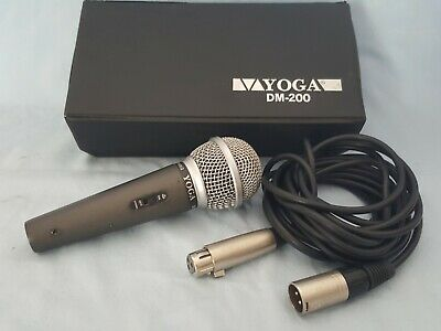 MICROPHONE-YOGA-DM-200 PRO MIC with extension lead