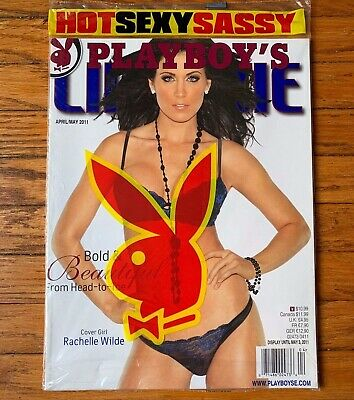 RACHELLE WILDE Playboy LINGERIE Magazine 2011 NEW/SEALED! Special Edition SE