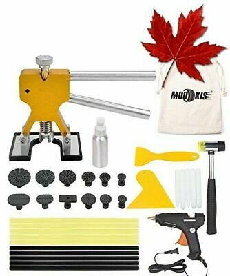 Mookis Paintless Dent Repair Puller Kits Dent Remover, 34pcs with Dent Lifter...