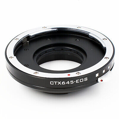 Aperture Control Adapter Ring For Contax 645 lens to Canon EOS EF Mount Camera