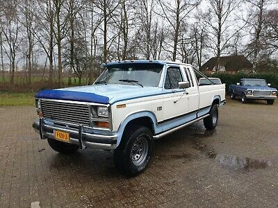 1984 Ford F150 Lariat 4x4 SuperCab with 351ci V8 and automatic