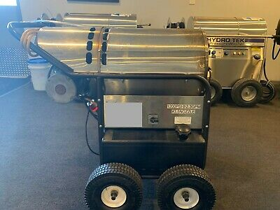 Used HydroTek HG120023E1 110/Diesel 2.3GPM@1200PSI Hot Water Pressure Washer