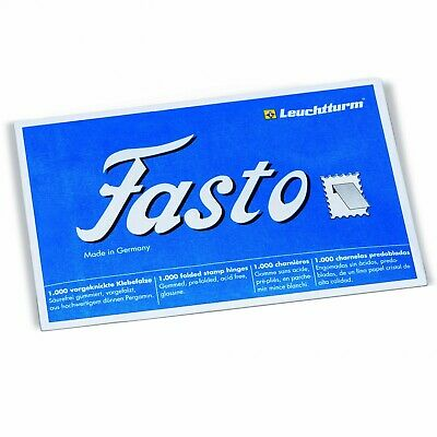 FASTO Stamp Hinges - Pack of 1000