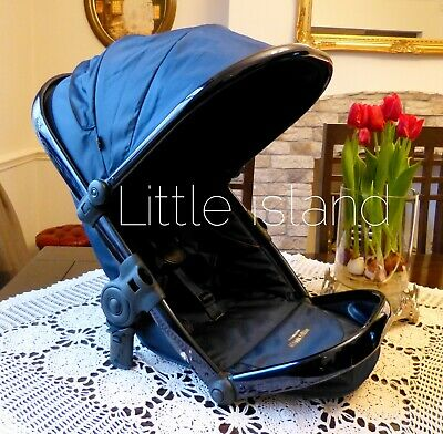 iCandy Peach 3 Main Carrycot Designer Collection Midnight
