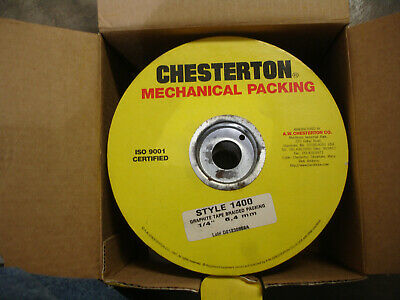 chesterton graphite tape packing 1/4 style 1400  #001479
