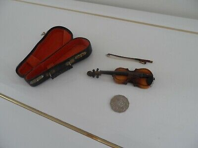 Antique miniature violin...Unique!  Original 1920s collectable