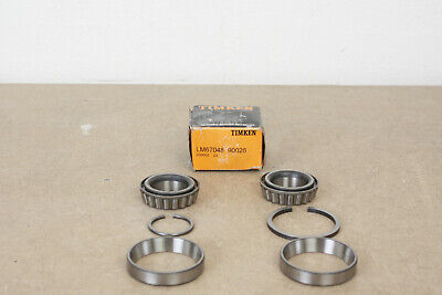 The Timken Company Sprocket Shaft Bearings For V-Twin Lm67048 90026
