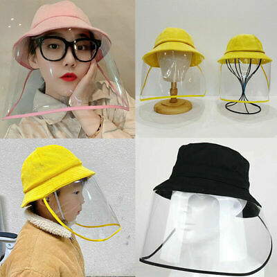 Protective Anti-spitting Anti Dust Hat Cover Outdoor Fisherman for Kids Adult