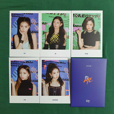 ITZY 2nd Mini Album IT'z Me Pre Order Benefit Official Postcard Set Genuine Kpop