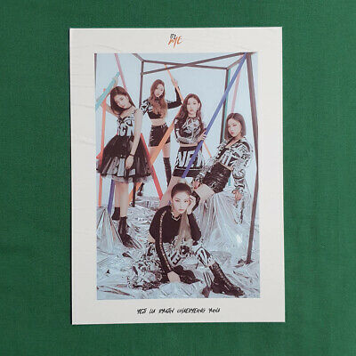ITZY Group Cut Official Cover Postcard 2nd Mini Album IT'z Me Genuine Kpop