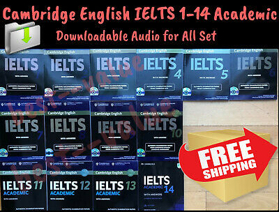 IELTS 1 – 14 Cambridge Practice Tests Academic Student Book Answers+Audio Link