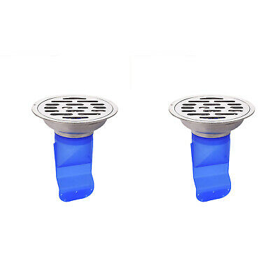 1X(Silicone Kitchen Strainer Bathroom Pipe Sewer Drain Anti-Odor Pest Contr5N1)