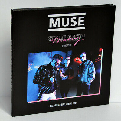 MUSE Live In Milan Italy 12Jul2019 Simulation Theory World Tour 2CD Digipak New
