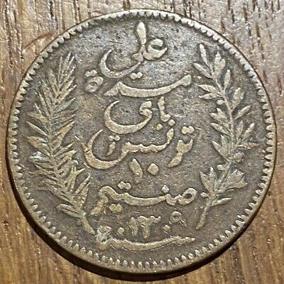 Piece De 10 Centimes 1892 A Tunisie (674)