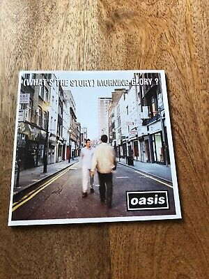What's The Story Morning Glory Oasis 1995 CD Album, Free Postage